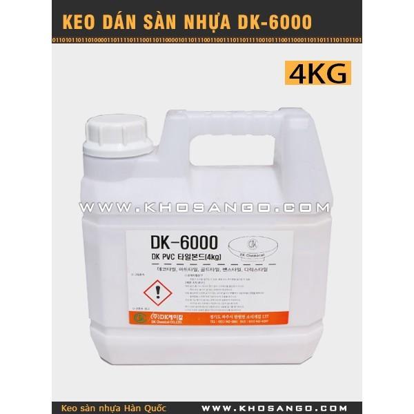 Keo dán sàn nhựa DK-6000-4kg