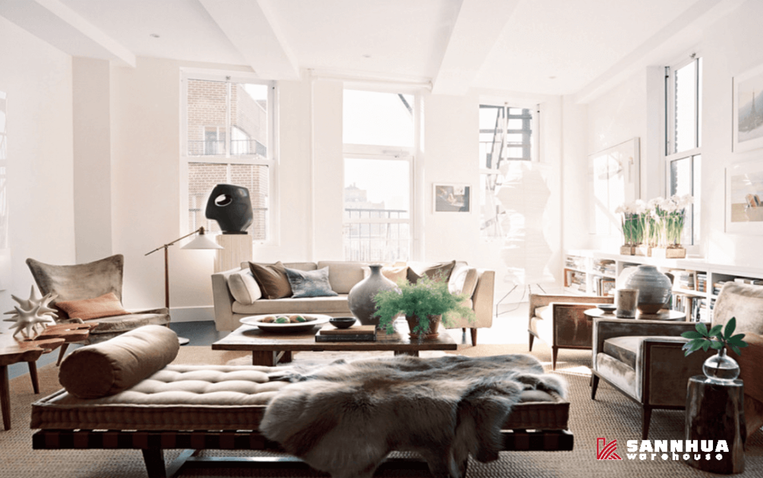 sàn gỗ cùng những ý tưởng trang trí nội thất nhà đẹp