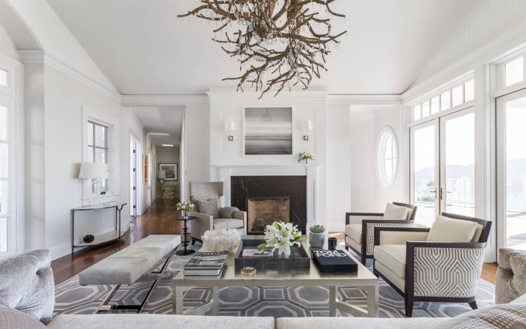 Thiết kế nội thất tương phản hiện đại