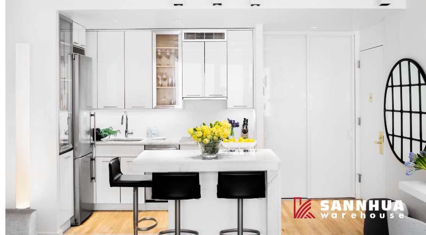 5 cách thay đổi màu sắc không gian bếp sang trọng